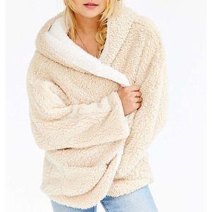 UO Reversible Fuzzy Jacket